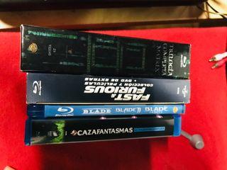 4 trilogías Blu-Ray ( SOLO PACk )
