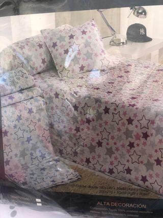 Colcha cama 150 de segunda mano en Torrent en WALLAPOP