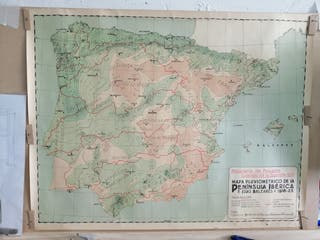 Mapa España 1931. Ministerio de Fomento