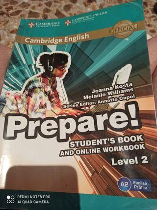 prepare Cambridge student book level 2
