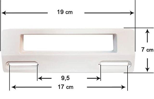 Tirador puerta Frigorifico BLANCO - casi universal