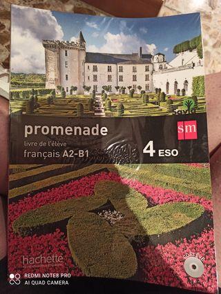 libro frances promenade 4 eso