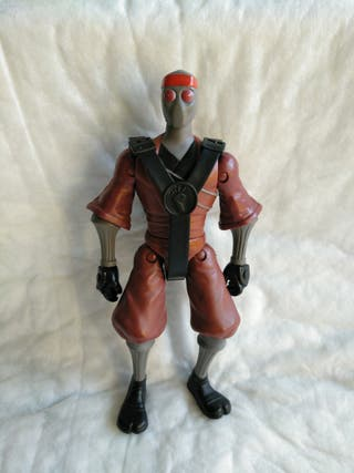 figura soldado clan del pie (tortugas ninja)