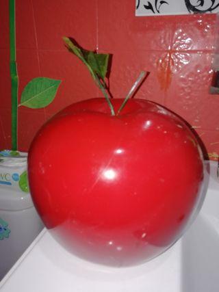 Gran manzana de decoración