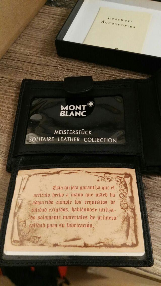 cartera MONTBLANC