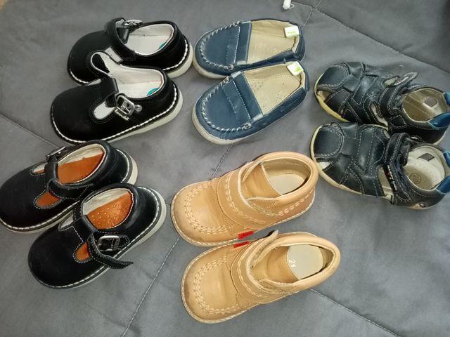 zapatos bebé talla 20-21