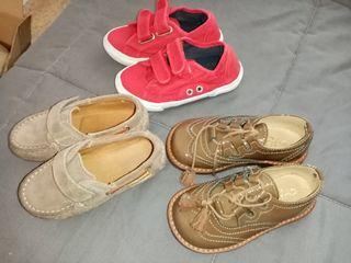 Zapatos de bebé talla 23