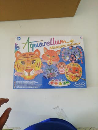 Aquarellum máscaras de animales