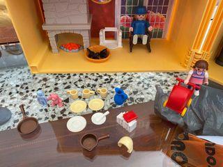 Casa maletín de PlayMobil antigua