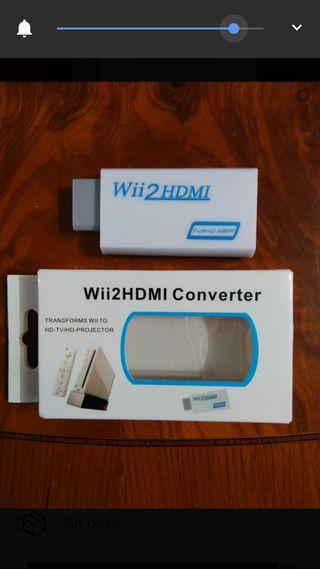 conversor adaptador HDMI consola Nintendo Wii nuev