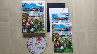 Juego Nintendo Wii Mario Party 8 WiiU Wii U