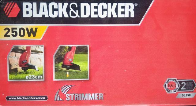 Desbrozadora Black&Decker de 250w,modelo GL250-QS