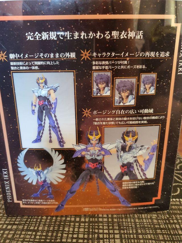 Saint Seiya Myth Cloth EX Fenix V2 Broken y Androm