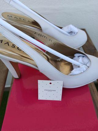 zapatos novia talla 40