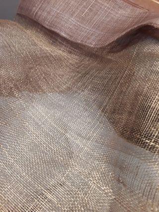 Rafia cobre merceria telas
