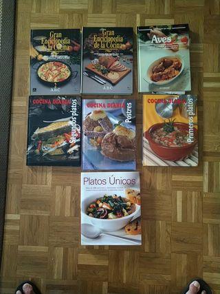 7 Libros de cocina
