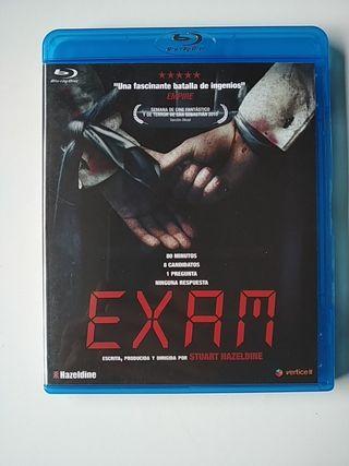 EXAM pelicula Blu-ray BR