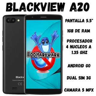 "Teléfono Móvil BlackView A20 5.5"" 1.3ghz 1gb ram"
