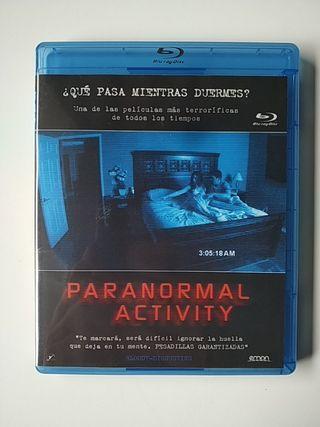 PARANORMAL ACTIVITY película Blu-ray BR