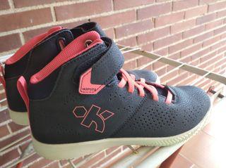 Zapatillas baloncesto talla 35
