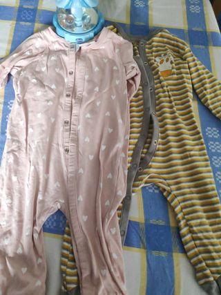 lote 2 pijamas 6/9 meses