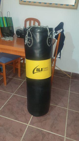 vendo saco de boxeo como nuevo