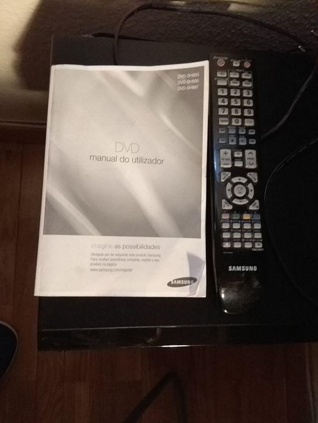 DVD Grabador SAMSUNG SH893 160GB