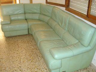 Rinconera Sofa Piel Natural