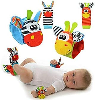 Juego para bebes (al moverlos suena un cascabel)