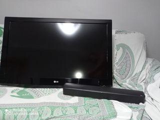 """TV LG 42"""" + barra sonido LG SK1"""