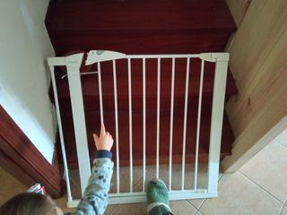barrera seguridad escalera