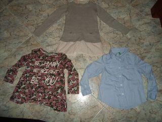 Camisa camiseta y Jerseys Niña