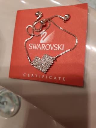 Rebajo a estrenarcon corazón cristalitos Swarovski