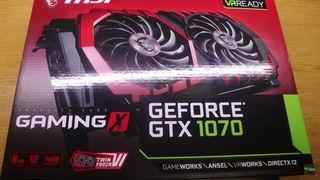 Vendo gráfica Gtx 1070 Gaming X 8 gb