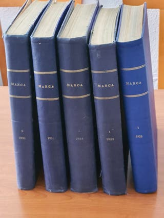 Tomos periodicos MARCA (1948-49-50-51-54-55-58)
