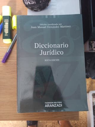 diccionario jurídico. aranzadi