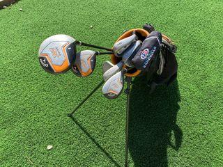 Set palos golf niño
