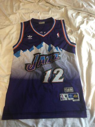 Camiseta NBA retro Utah Jazz #12 John Stockton