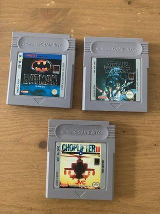 3 juegos Gameboy