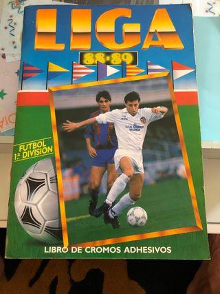 Álbum cromos LIGA 88-89 ed.este