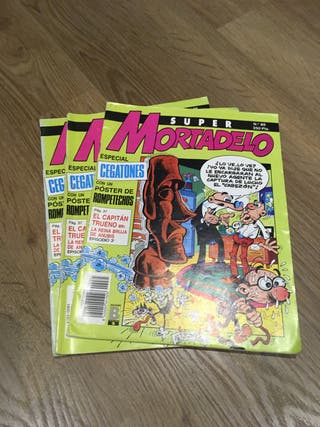 COMICS/TEBEOS B-SUPER MORTADELO