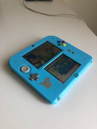 Nintendo 2DS edición pokemon