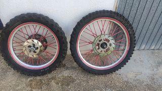 ruedas enduro