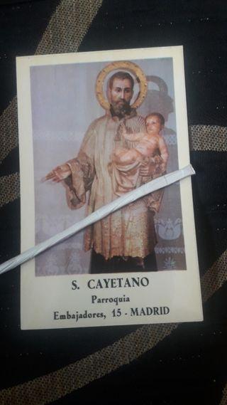 A, recordatorio fotográfico, San Cayetano, Madrid