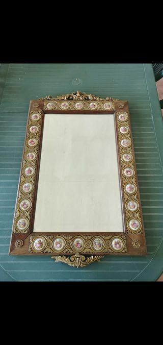 espejo antigüo