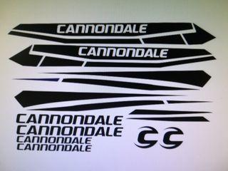 Kit pegatinas cannondale