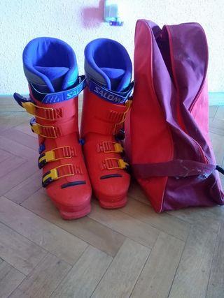 botas esquiar Salomón