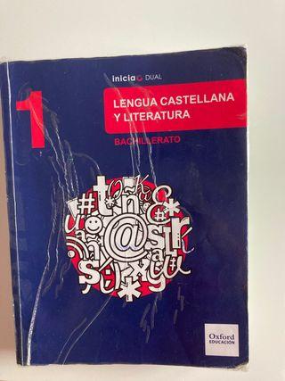 Libro de Lengua Castellana 1 de Bachillerato