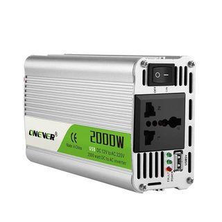 Inversor 2000w Convertidor 12v a 220v A ESTRENAR