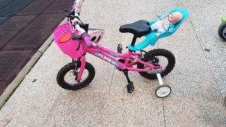 bicicleta de Forum Sport niña